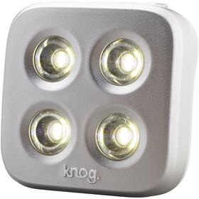 Knog Blinder MOB The Face Linterna frontal LED blanco, silver